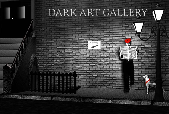 Dark Art Gallery